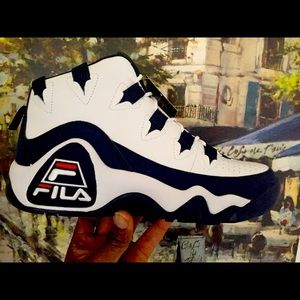 Fila Grant Hill 1 White Navy Red